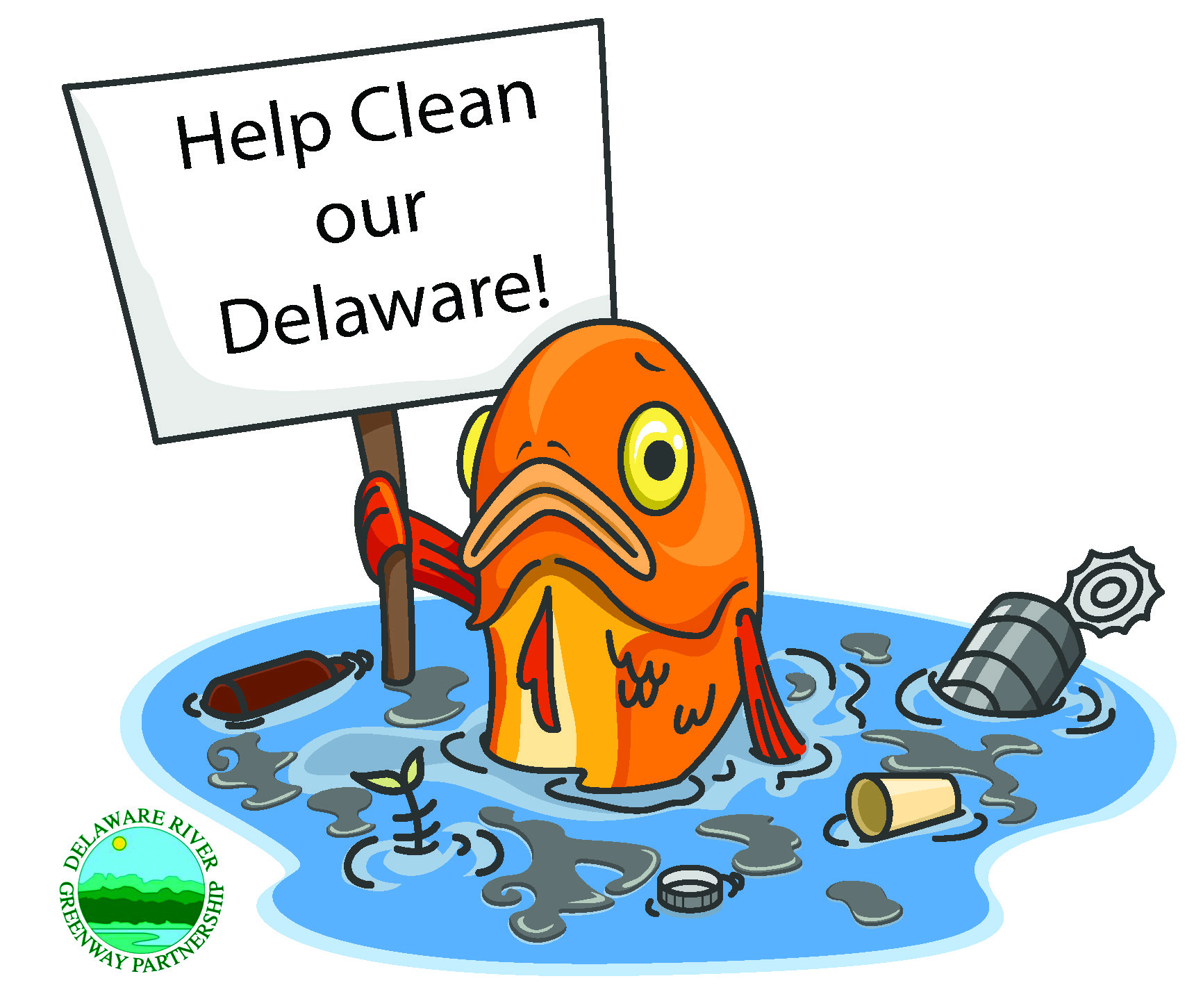 3rd annual Delaware River Cleanup